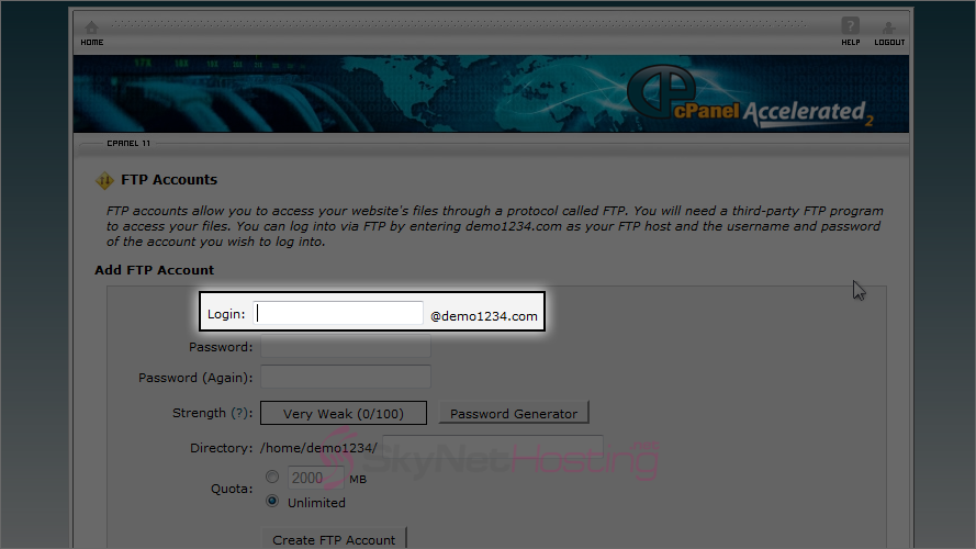 new-ftp-account-CPANEL