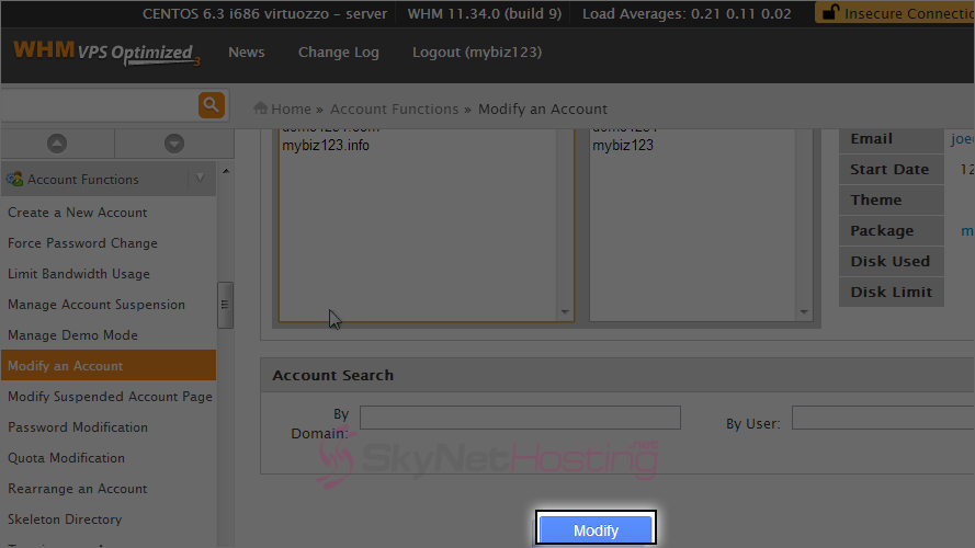 click-on-modify