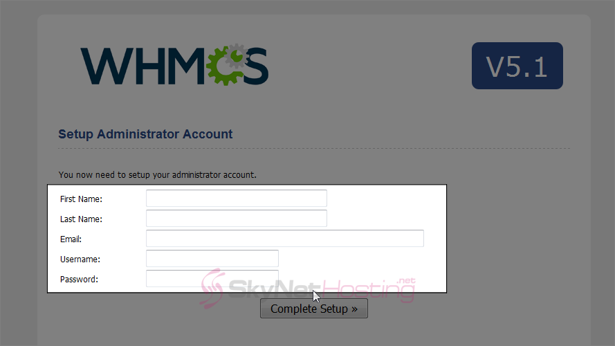 enter-details-to-setup-adminstrator-account