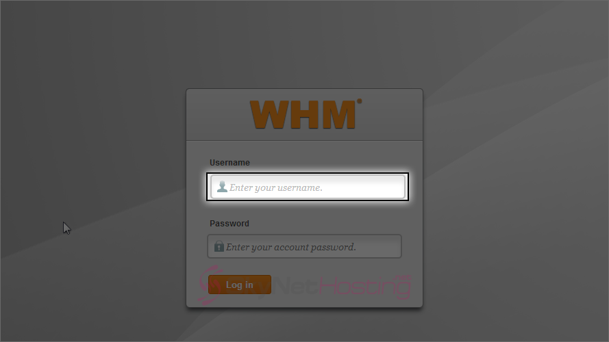 whm-log-in-interface